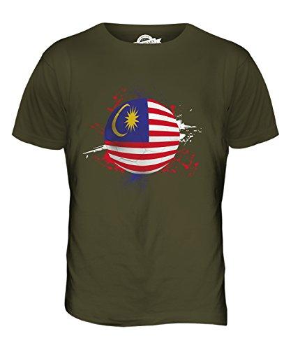 CandyMix Malaysia Fußball Herren T Shirt Khaki Grün