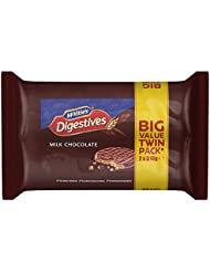 McVitie's Digestives Twin Pack Milk Chocolate Biscuits, 632 g