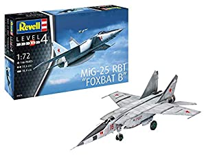 Revell-MiG-25 RBT, Escala 1:72 Kit de Modelos de plástico, Multicolor, 1/72 (Revell 03878 3878)