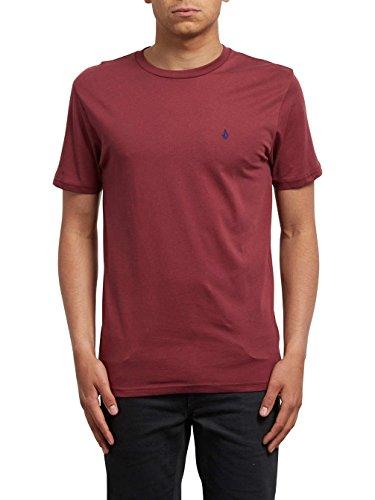 Herren T-Shirt Volcom Stone Blanks BSC T-Shirt (Blank Rot Herren T-shirt)
