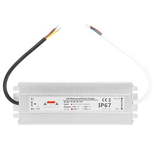 IP67 wasserdichtes 24V 120W 5A LED-Lichtleisten-Netzteil für Innen-LED, Lampen, Lichtleisten, Wandfluter -