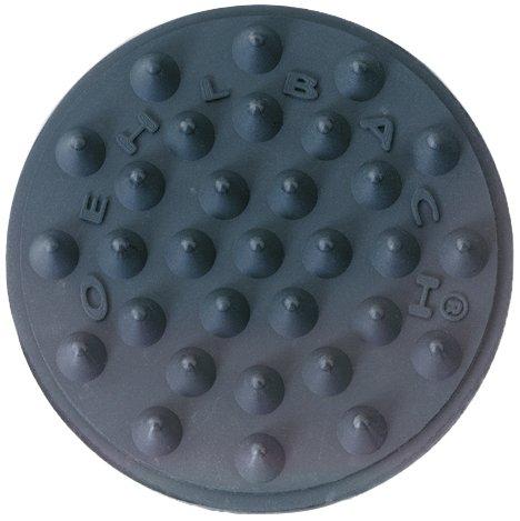 Oehlbach Shock Absorber | Flacher & effektiver Absorber Resonanzdämpfer | Geeignet für kleine & große Lautsprecher, Geräte | 4 Stück -schwarz