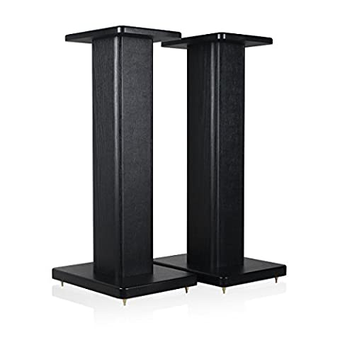 minify BS S8 – MDF Box Speaker Stands Pair in 2 Styles and Sizes to choose from – Ideal for Boxes with Wood Decor