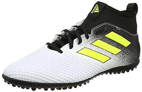 adidas Ace Tango 17.3 Tf, Chaussures de Football Homme, Jaune (Footwear White/Solar Yellow/Core Black), 45 1/3 EU