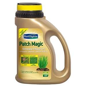 Fertiligène MJM-PATCH1 Patch Magic Rénovateur pelouse 3 en 1 Boîte de 1 kg