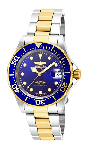 Invicta 17042 Pro Diver Unisex Wrist Watch Stainless Steel Automatic Blue Dial