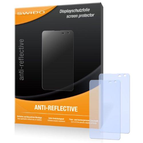SWIDO Bildschirmschutz für Nokia Lumia 625 [4 Stück] Anti-Reflex MATT Entspiegelnd, Hoher Härtegrad, Schutz vor Kratzer/Glasfolie, Schutzfolie, Bildschirmschutzfolie, Panzerglas Folie