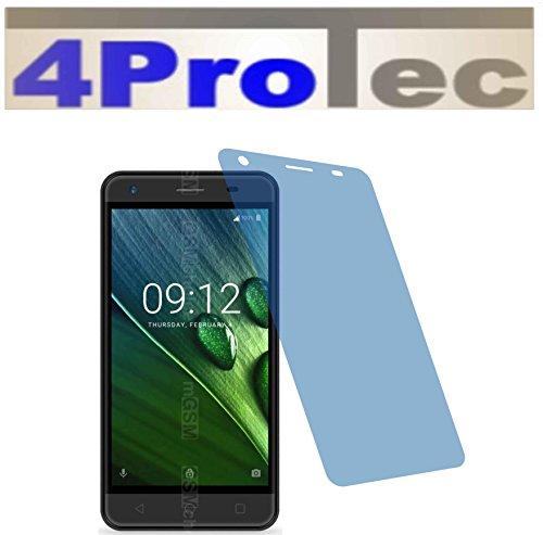 2x Crystal clear klar Schutzfolie für Acer Liquid Z6E Duo Premium Displayschutzfolie Bildschirmschutzfolie Schutzhülle Displayschutz Displayfolie Folie