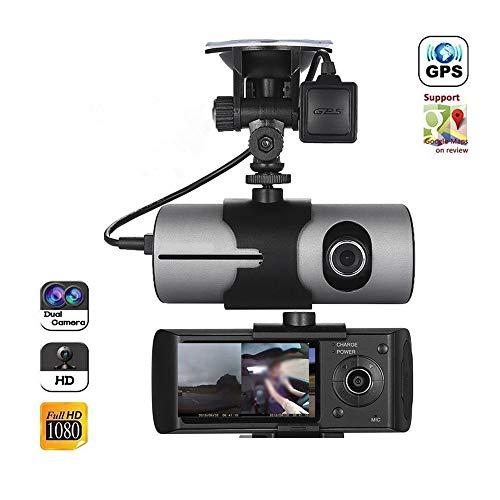 Cámara para Auto con WiFi Y Grabadora GPS Ultra HD, Cámara De...