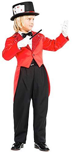 Costume di Carnevale da Mago Vestito per Ragazzo Bambino 7-10 Anni  Travestimento Veneziano Halloween 021d49b28eb5