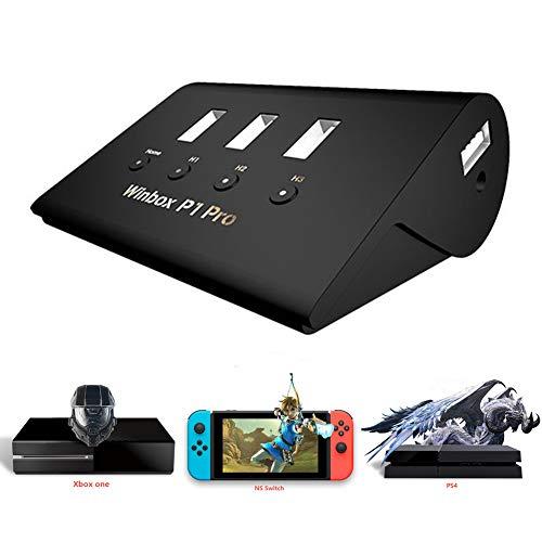Controller Xbox Kostüm - iBatse_S Konverter Tastatur und Maus Adapter für FPS/PS4/Xbox One/PS3/Xbox 360/Switch, AoV, Mobile Legend, ROS, Cutter, Free Shot