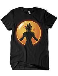 Camisetas La Colmena 4523-Camiseta Premium,Super Saiyan Hero (Ddjvigo)
