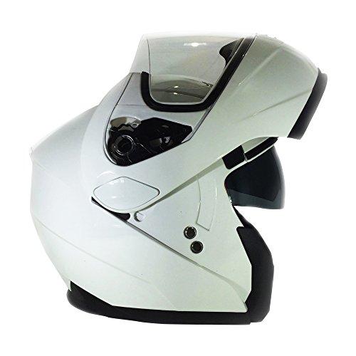 3GO Helmets Casco, Nero, 57-58