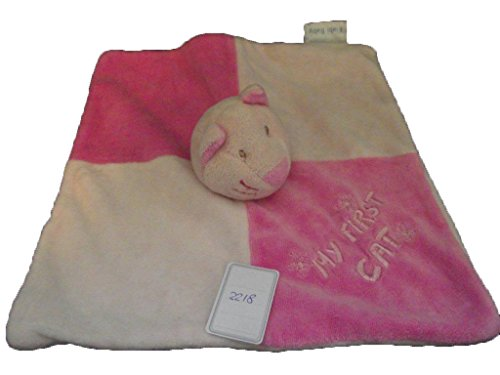 Kiabi – Doudou Kiabi kitchoun My First Cat gato plana...