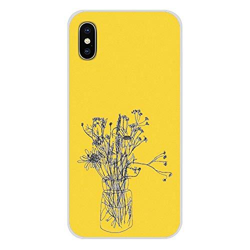 Handy-Shell-Fall Hippie Ästhetik gelb-Muster für iPhone X XR XS MAX 4 4S 5 5S 5C SE 6 6S 7 8 Plus ipod Touch 5 6-in Hälfte, Bilder 3, für iPhone 7 Plus (Billige Lustige Iphone 4s Fällen)