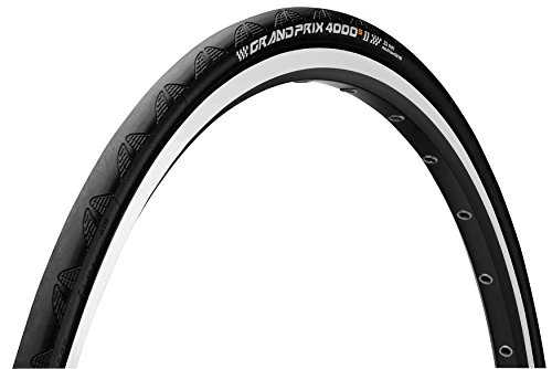ContinentalGrand Prix 4000 S II 0100935 650 x 23C - Neumático para rueda de ciclismo, color negro