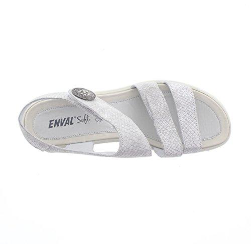 ENVAL SOFT , Damen Sandalen argento - 600
