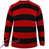Gutsy RED and Black Striped Dennis The Menace Style Fancy Dress Jumper Pull Book Week