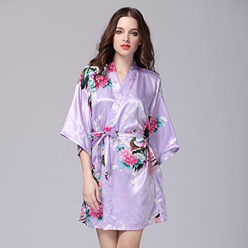 lpkone-Vêtements pour femmes à manches courtes robe de soie robe en soie de glace,sexy codes Code:,White Lavender