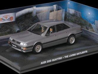 Audi 200 Quattro Voiture Miniature de James Bond The Living Daylights