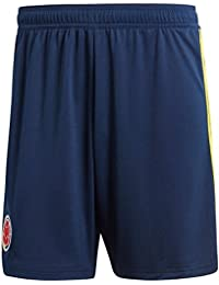 adidas Colombia Pantalones Cortos, Niños, Azul (Maruni/Amabri), 152-