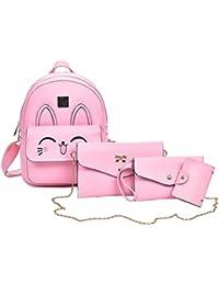 Donna bambina borse borse Nero e Amazon it Borse Scarpe qTIwCgA