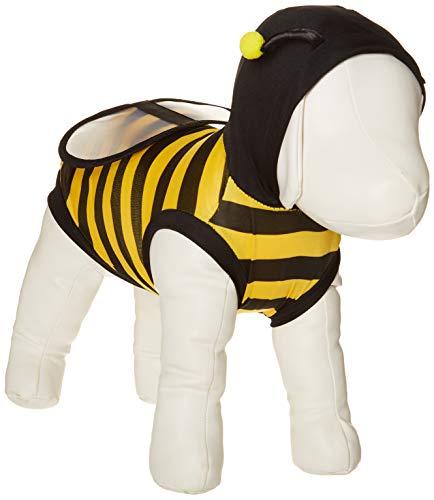 Pet Bumblebee Kostüm - NACOCO Hund Bee Kostüm Pet Cute Hoodies Puppy Kleidung Katze Bumblebee für Kleine und Mittelgroße Hunde, M, Gelb