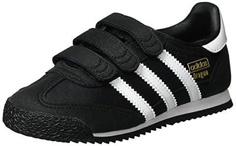 Adidas Dragon OG, Basses Mixte Enfant, Noir (Core Black/Ftwr White/Core