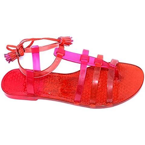 Juicy Couture punta-Post in sandali, taglia 3 -  3,5 DA £78
