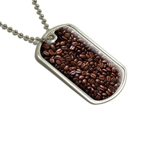 Kaffee Bohnen Militärische Erkennungsmarke Gepäck Schlüsselanhänger