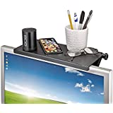 Sukhkar TV Screen Top Shelf Monitor Mount Organizer for Computer Monitor/Flat Screen TV, (Multi)