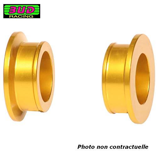 BUD RACING - Cales De Roue Arrière Compatible Suzuki 125 250 RM 00-08