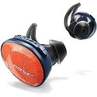 Bose SoundSport Free - Auriculares intraurales inalámbricos, Naranja (Bright Orange/Azul Marino)
