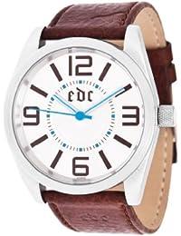 EDC Herren-Armbanduhr Analog Quarz Leder EE100341002