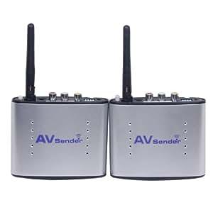 Signstek Pat-330 2.4Ghz 4 Channel 150m 30m Wireless Audio Video AV SD TV Sender Transmitter & Receiver Remoter Portable Consumer Electronic Gadget Shop