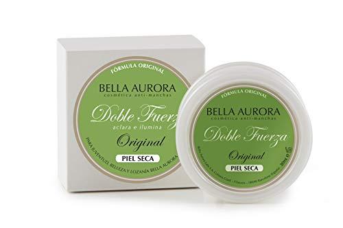 Bella Aurora, Doble Fuerza Original piel seca. Aclara e ilumina -30ml