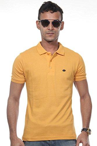 FIOCEO Poloshirt slim fit Senf
