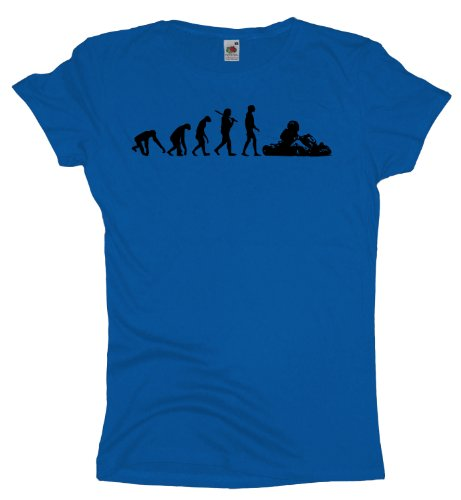 Ma2ca - Evolution - Gokart Girlie T-Shirt Royal