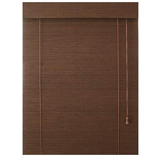Braun Bambus Rollos (Kann Angepasst Werden), Hebe Rollladen, Korridor/Pavillon/Indoor Bambus Vorhang 85 * 150 cm