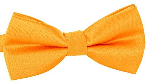 BomGuard Fliege für Herren gelb I Männer Fliege für Hochzeit, Party oder edele Anlässe I Trendy Bow Tie I 3er Set Schleifen