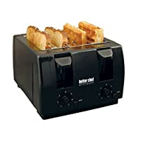 Better Chef 4-Slice Toaster - IM-242B