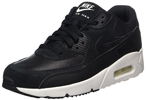 Nike Herren Air Max 90 Ultra 2.0 Ltr Laufschuhe, Schwarz (Black/Black-Summit White), 40.5 EU
