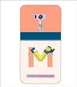 PrintDhaba GRANDbet M D-2636 Back Case Cover for ASUS ZENFONE SELFIE ZD551KL (Multi-Coloured)