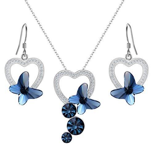 Clearine donna parure gioielli argento 925