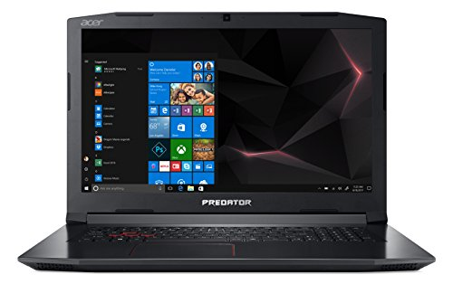"Acer Predator Helios 300 PH317-52-72FC Notebook con Processore Intel Core i7-8750H, 2.2 GHz, RAM 16 GB, 1000 GB HDD, Schermo da 17.3"" FHD IPS LCD, NVIDIA GeForce GTX 1060 6G GDDR5, Windows 10"