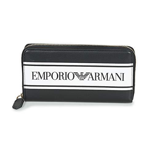 Emporio Armani Y3H168-YFG7A-88009 Geldbörsen Damen Schwarz - Einheitsgrösse - Portemonnaie