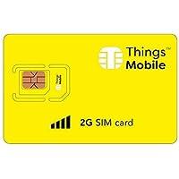 SIM Card 2G con copertura globale e 10 € di credito incluso