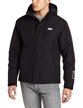 Helly Hansen SEVEN J LIGHT INSULATED JACKET - Chaqueta impermeable para hombre, color negro, talla XL