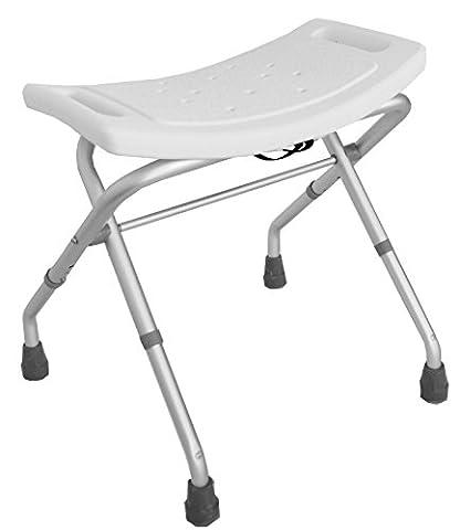 Badhocker klappbar 3 fach verstellbar Duschstuhl Badestuhl Duschhocker Duschhilfe 150 kg TrutzHolm® by Baumarktplus
