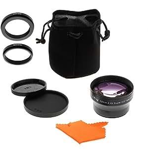 OBJECTIF 2,2x OTING pour Nikon D7200 D7100 D7000 D5200 D5100 D5000 D3200 D3100 D3000 D800 D700 D600 D300 D300S D200 D100 D90 D80 D70 D60 D40 D4 D3 D3X D3S D2 D1